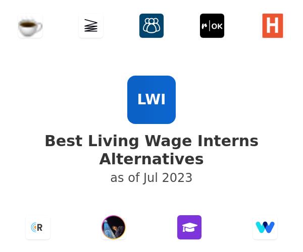 Best Living Wage Interns Alternatives