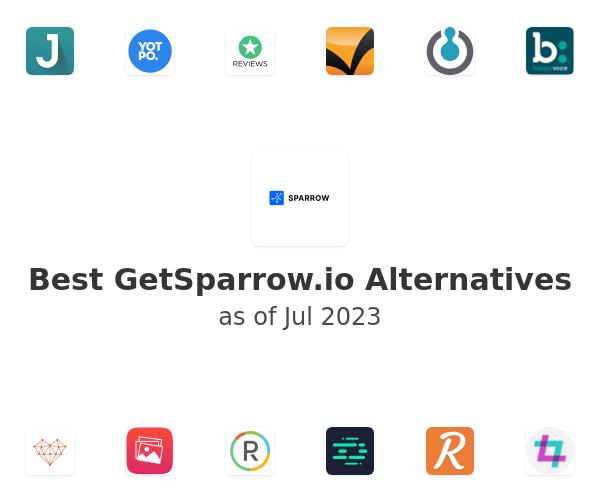 Best GetSparrow.io Alternatives
