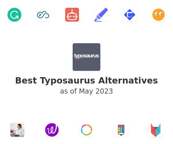 Best Typosaurus Alternatives