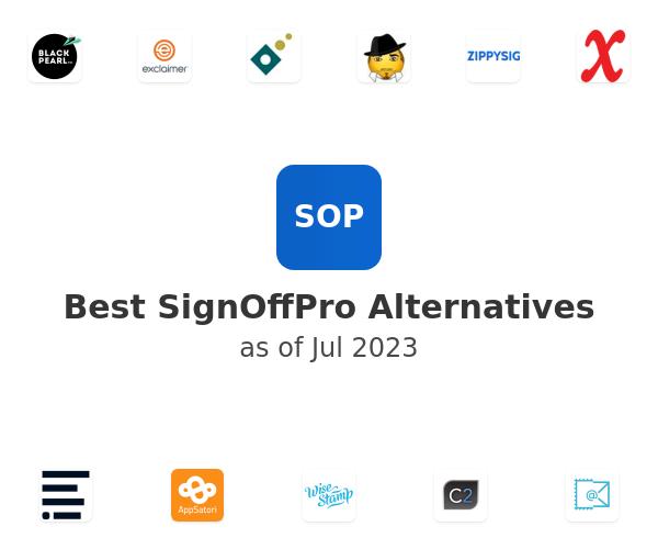 Best SignOffPro Alternatives