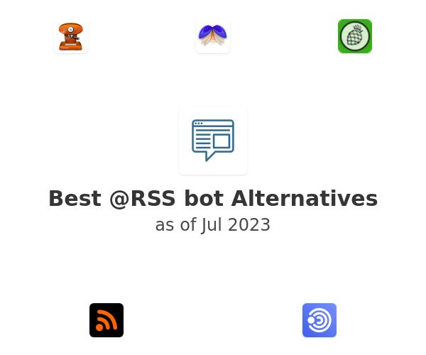 Best @RSS bot Alternatives