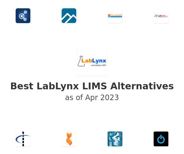 Best LabLynx LIMS Alternatives