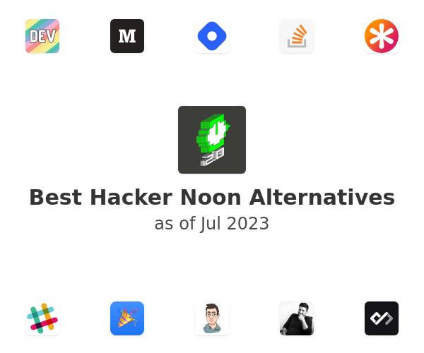 Best Hacker Noon Alternatives