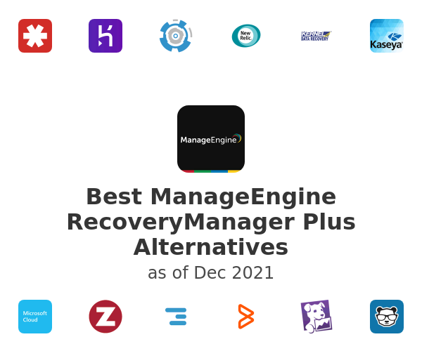 Best ManageEngine RecoveryManager Plus Alternatives