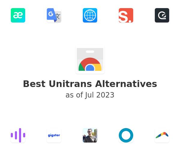 Best Unitrans Alternatives