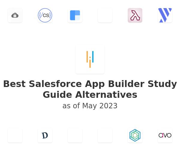 Best Salesforce App Builder Study Guide Alternatives