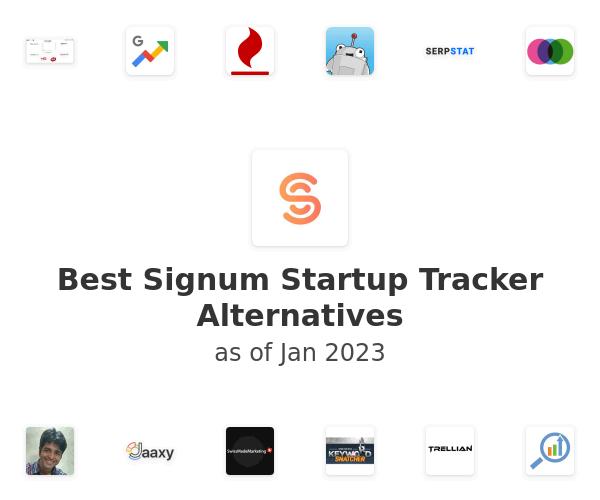 Best Signum Startup Tracker Alternatives