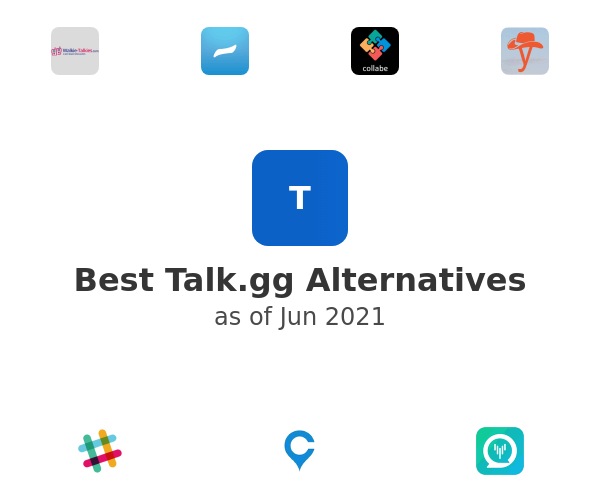 Best Talk.gg Alternatives