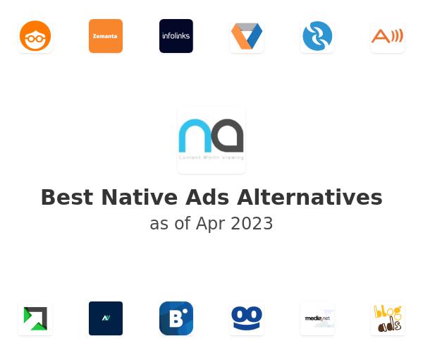 Best Native Ads Alternatives