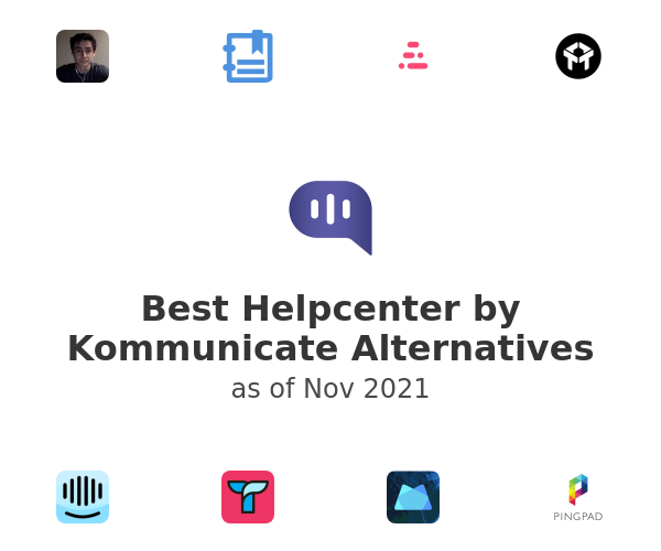 Best Helpcenter by Kommunicate Alternatives