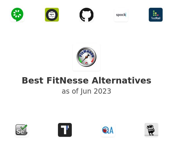 Best FitNesse Alternatives