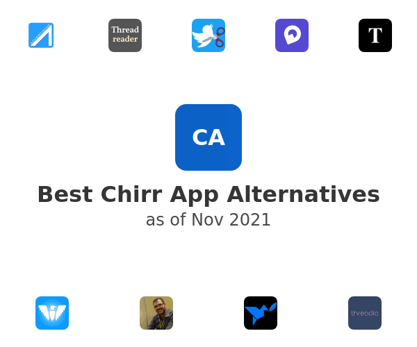 Best Chirr App Alternatives