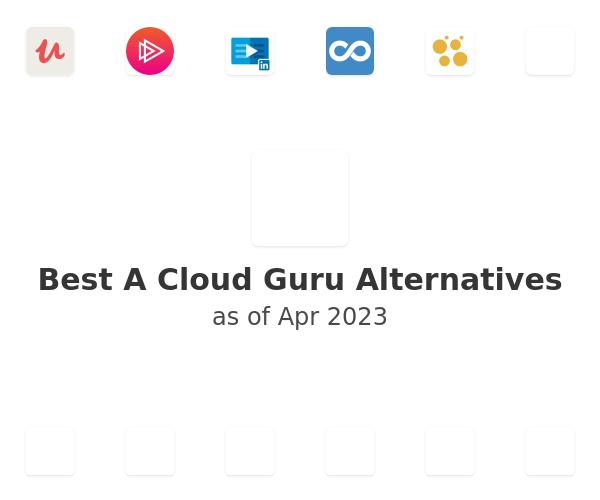 Best A Cloud Guru Alternatives