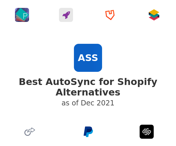 Best AutoSync for Shopify Alternatives