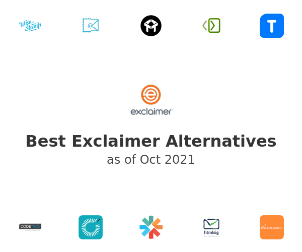 Best Exclaimer Alternatives