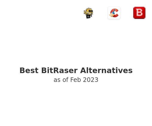 Best BitRaser Alternatives