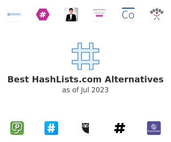 Best HashLists.com Alternatives