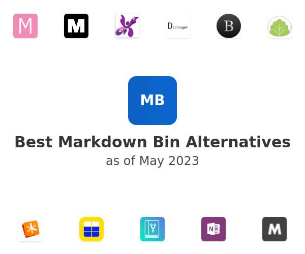 Best Markdown Bin Alternatives