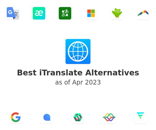 Best iTranslate Alternatives