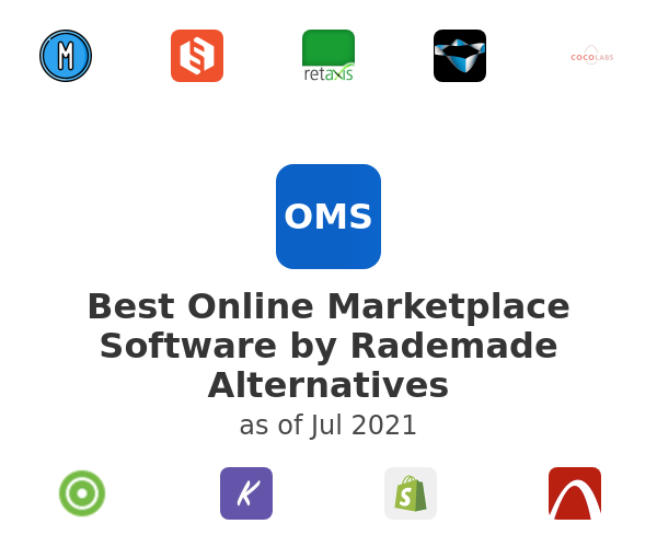 Best Online Marketplace Software by Rademade Alternatives