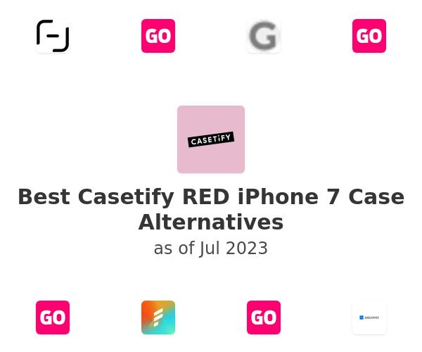 Best Casetify RED iPhone 7 Case Alternatives
