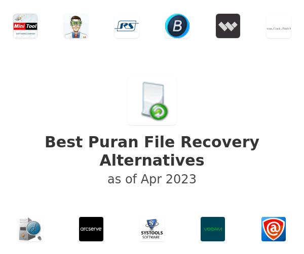 Best Puran File Recovery Alternatives