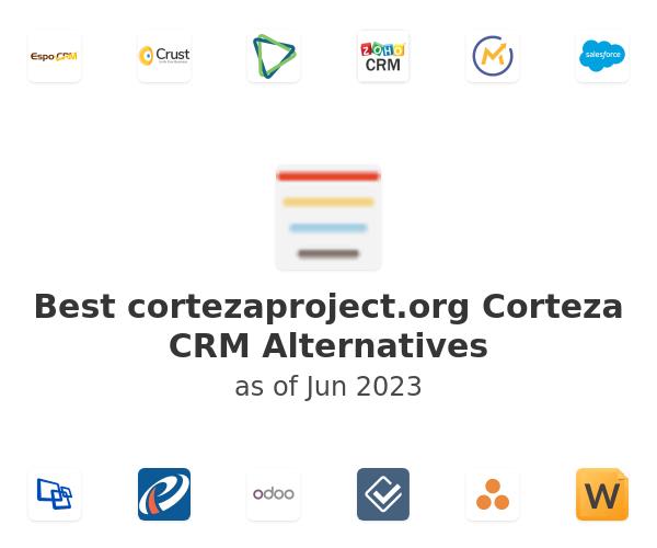 Best Corteza CRM Alternatives