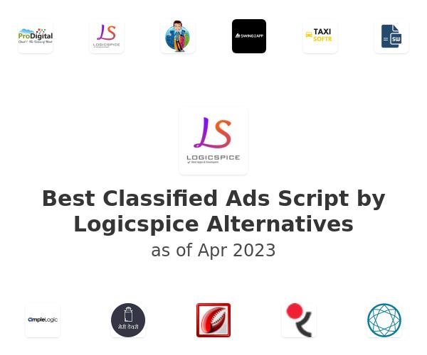 Best Classified Ads Script by Logicspice Alternatives