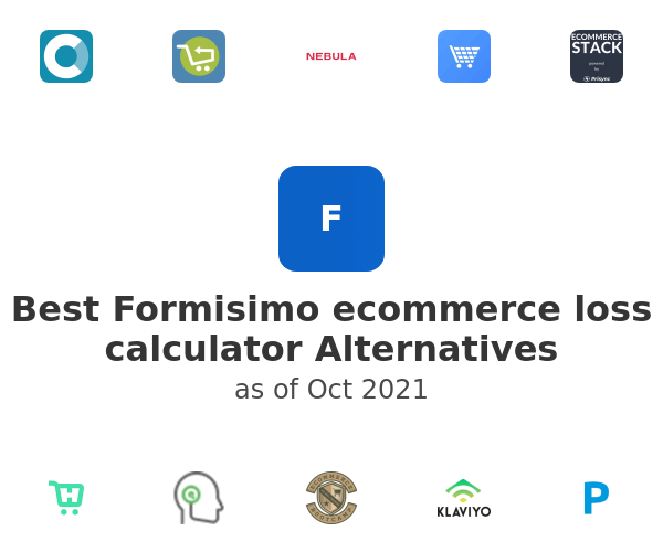 Best Formisimo ecommerce loss calculator Alternatives