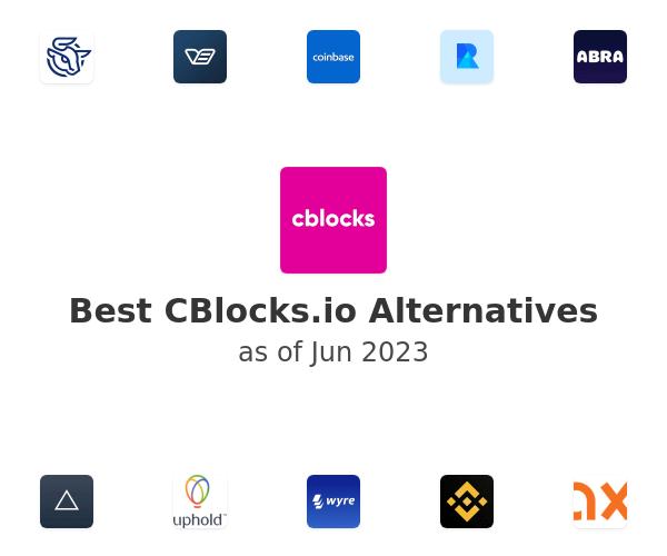 Best CBlocks.io Alternatives
