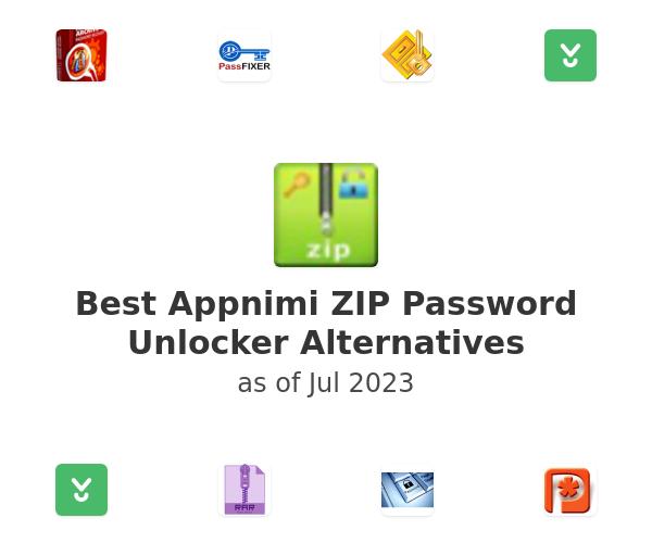 Best Appnimi ZIP Password Unlocker Alternatives