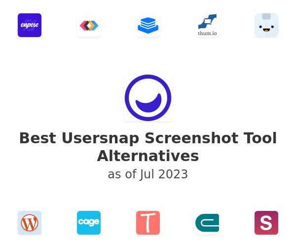 Best Usersnap Screenshot Tool Alternatives