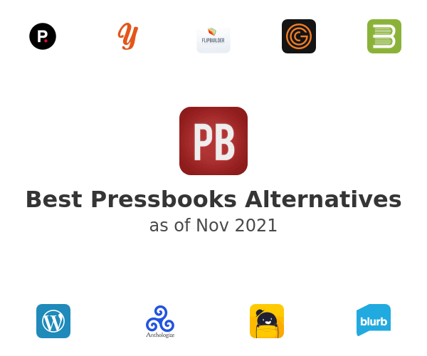 Best Pressbooks Alternatives