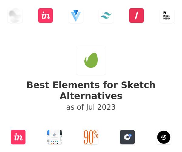 Best Elements for Sketch Alternatives
