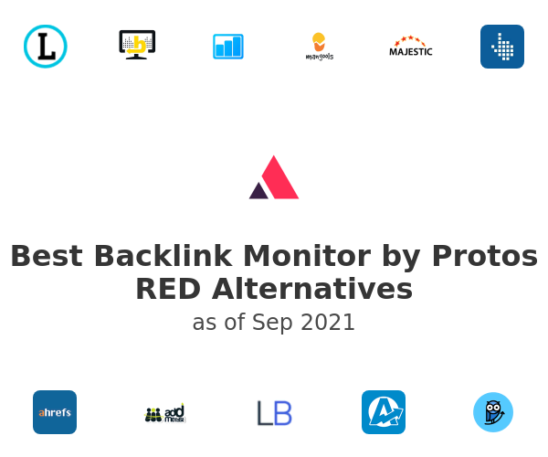 Best Backlink Monitor by Protos RED Alternatives