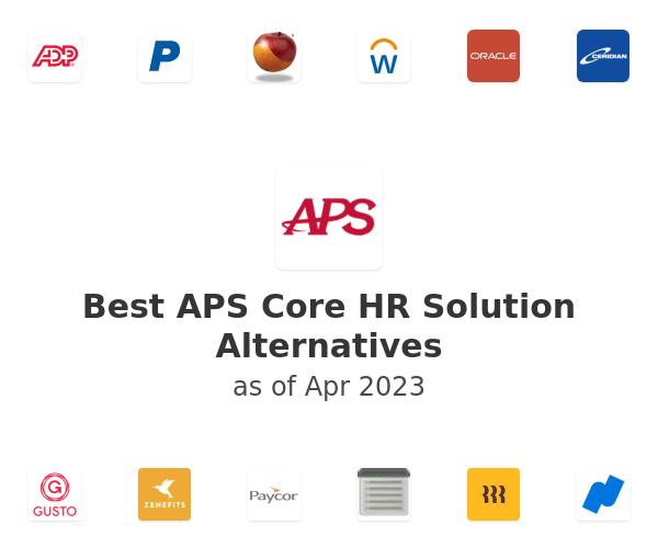 Best APS Core HR Solution Alternatives