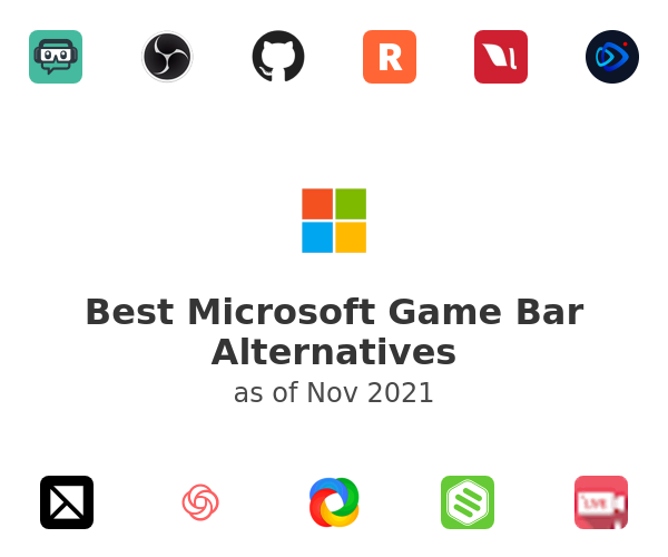 Best Microsoft Game Bar Alternatives