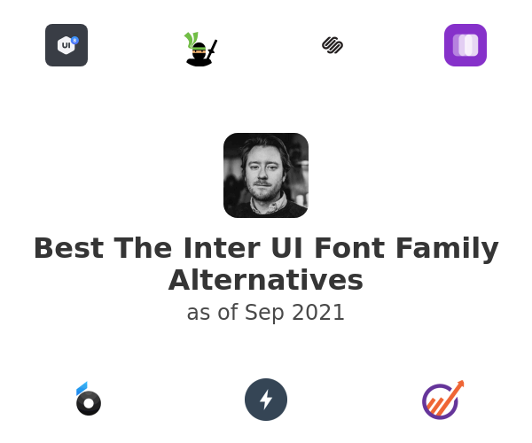 Best The Inter UI Font Family Alternatives