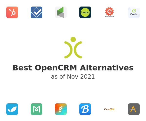 Best OpenCRM Alternatives
