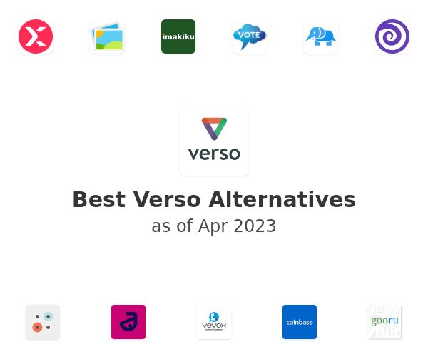 Best Verso Alternatives