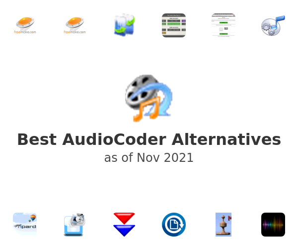 Best AudioCoder Alternatives