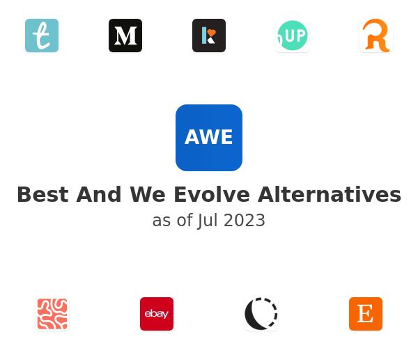 Best And We Evolve Alternatives