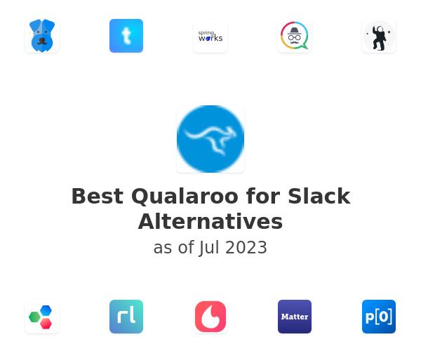 Best Qualaroo for Slack Alternatives