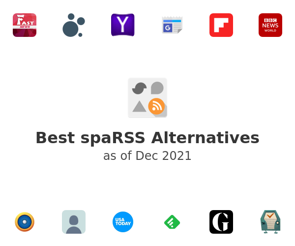 Best spaRSS Alternatives