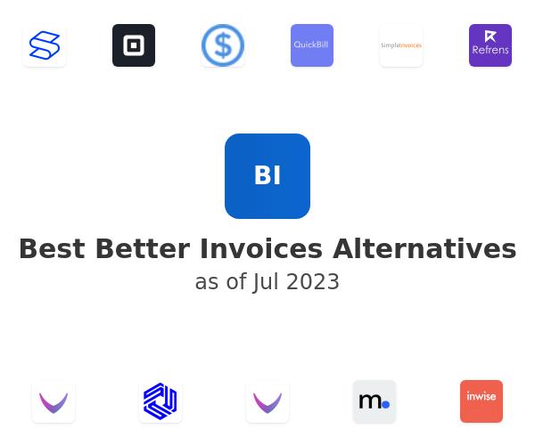Best Better Invoices Alternatives