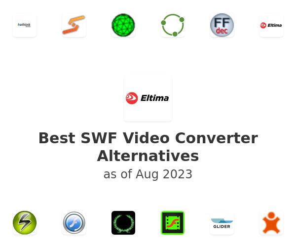 Best SWF Video Converter Alternatives