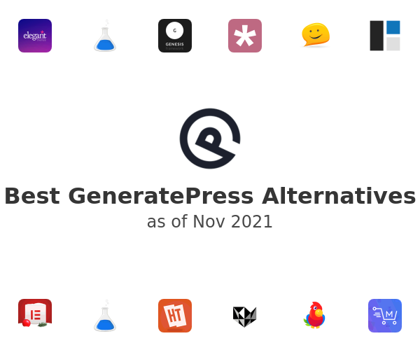 Best GeneratePress Alternatives