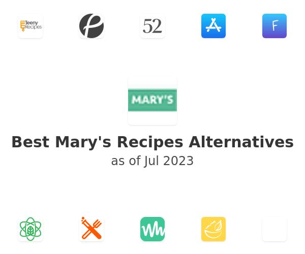 Best Mary's Recipes Alternatives