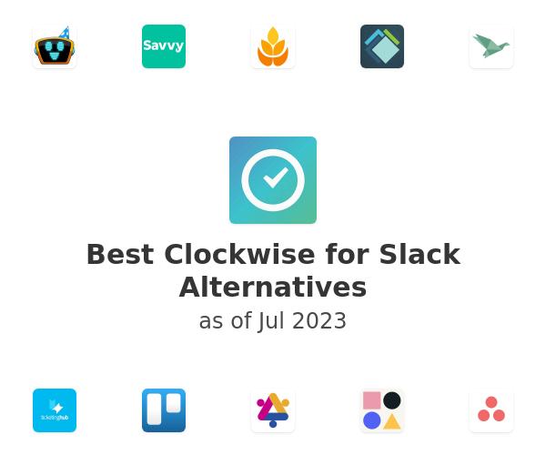 Best Clockwise for Slack Alternatives