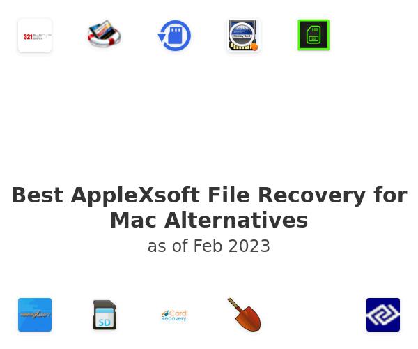 Best AppleXsoft File Recovery for Mac Alternatives